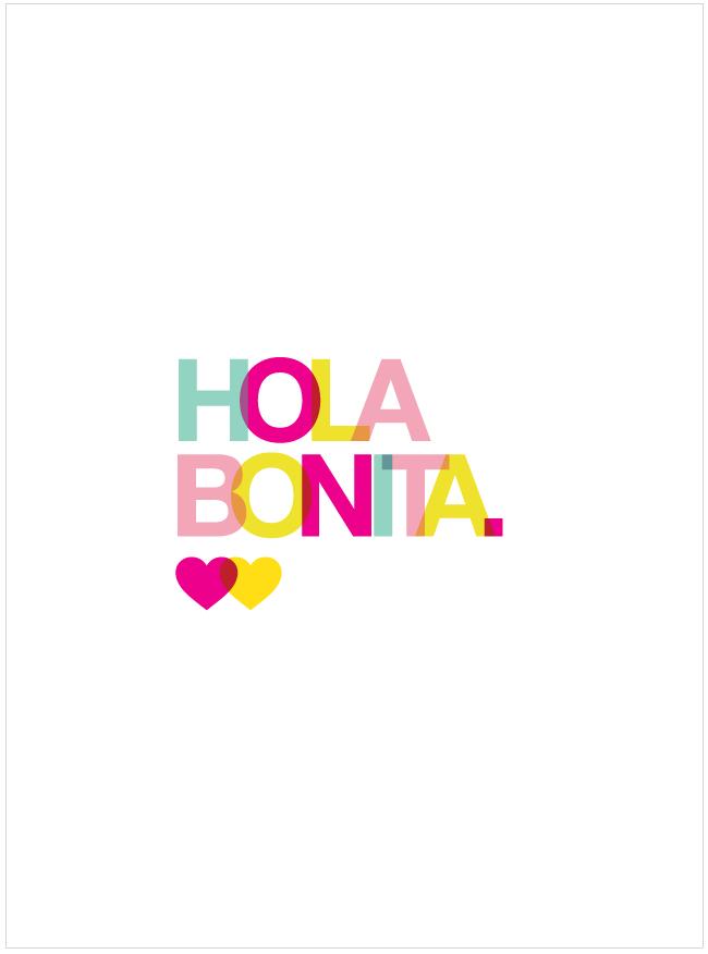 Fondo de Pantalla para iPhone 4 y 5: Hola Bonita. | la craftería mx